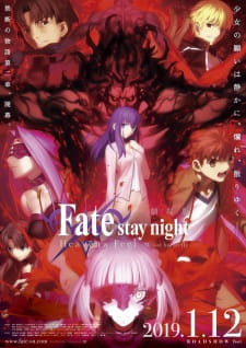 Fatestay Night Movie Heavens Feel Ii Lost Butterfly Dub
