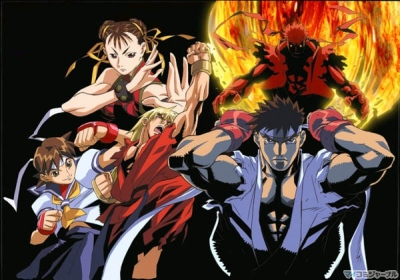 Street Fighter Alpha The Animation